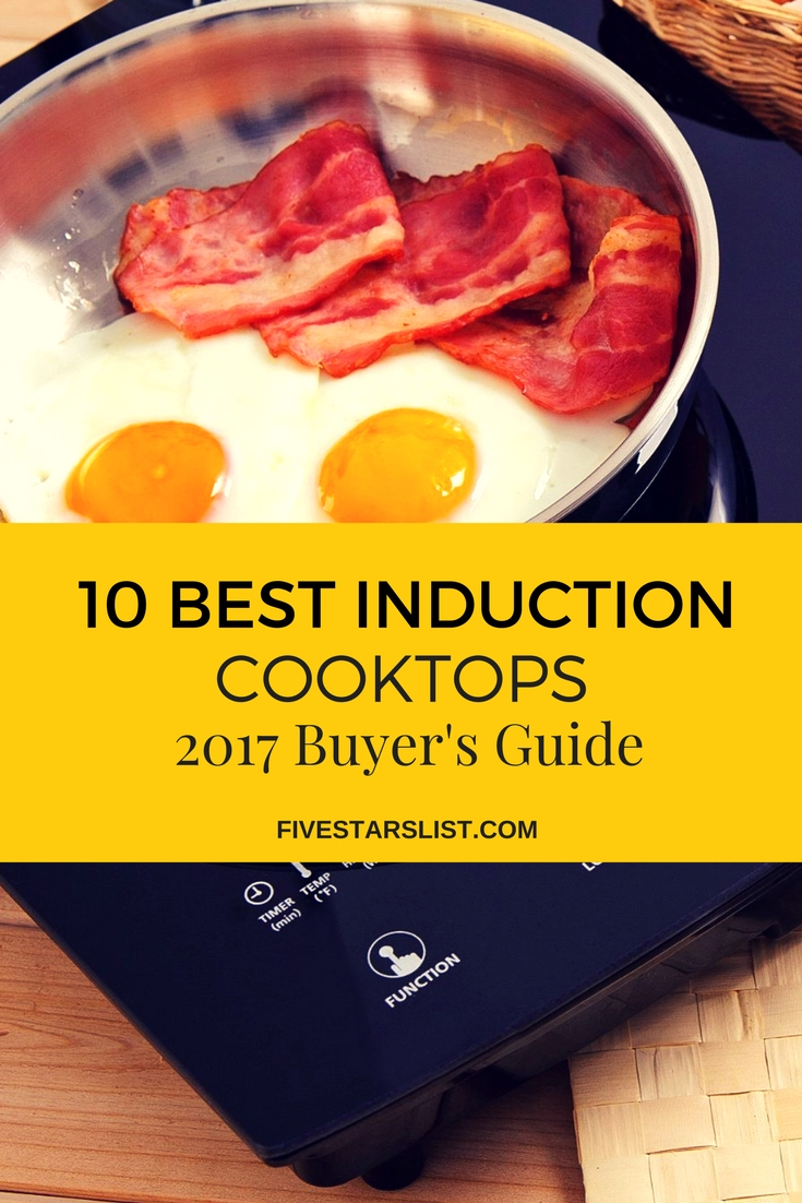 Best Induction Cooktops - Buyer's Guide