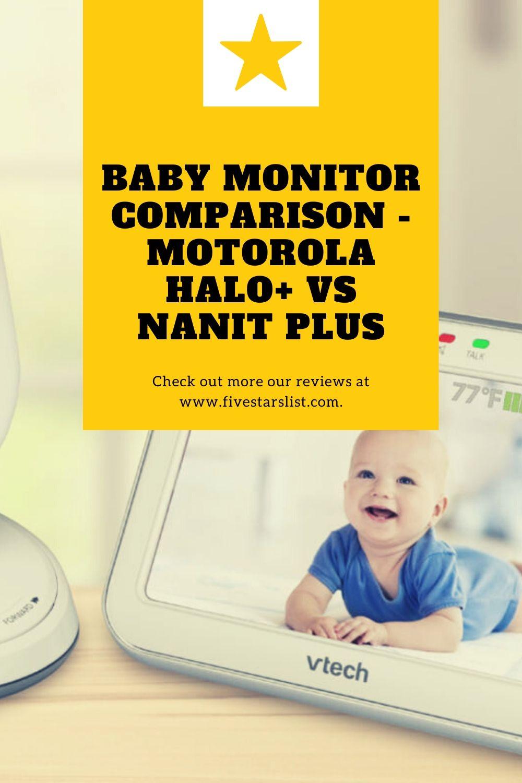 Baby Monitor Comparison - Motorola Halo+ vs Nanit Plus
