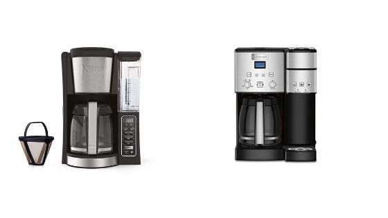 Cuisinart SS-15 Coffee Maker vs Ninja 12-Cup Programmable Coffee Maker -2020 User Guide
