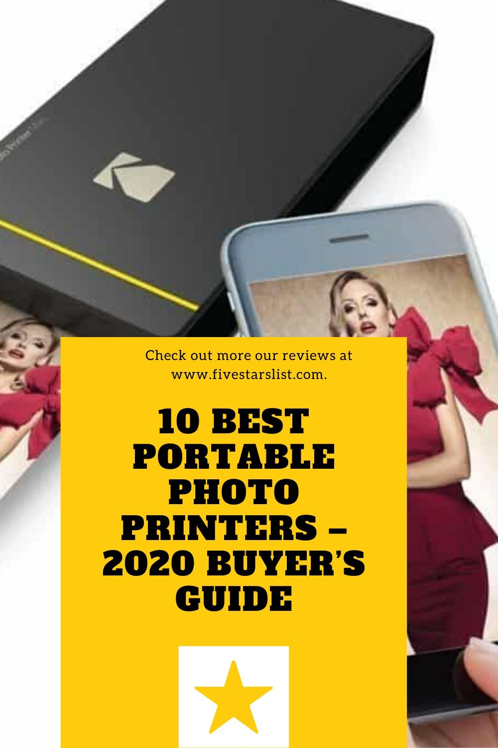 10 Best Portable Photo Printers – Buyer's Guide