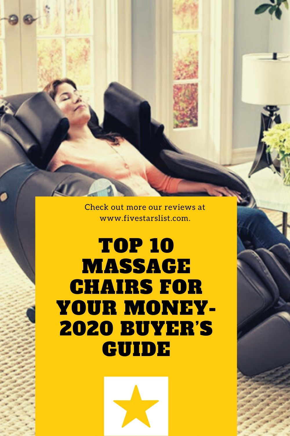 Top 10 Massage Chairs for Your Money- 2020 Buyer's Guide