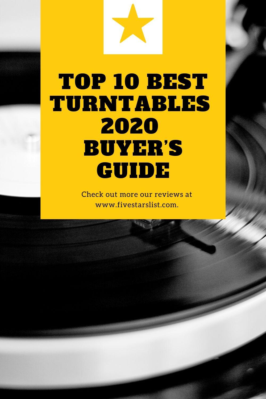 Top 10 Best Turntables – 2020 Buyer's Guide