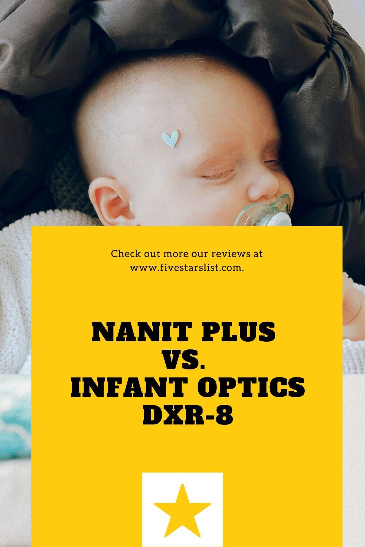 Nanit Plus vs. Infant Optics DXR-8