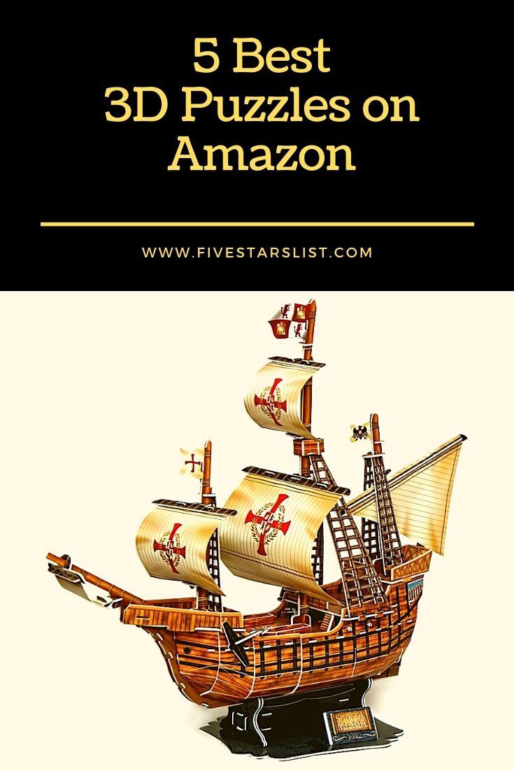 5 Best 3D Puzzles on Amazon