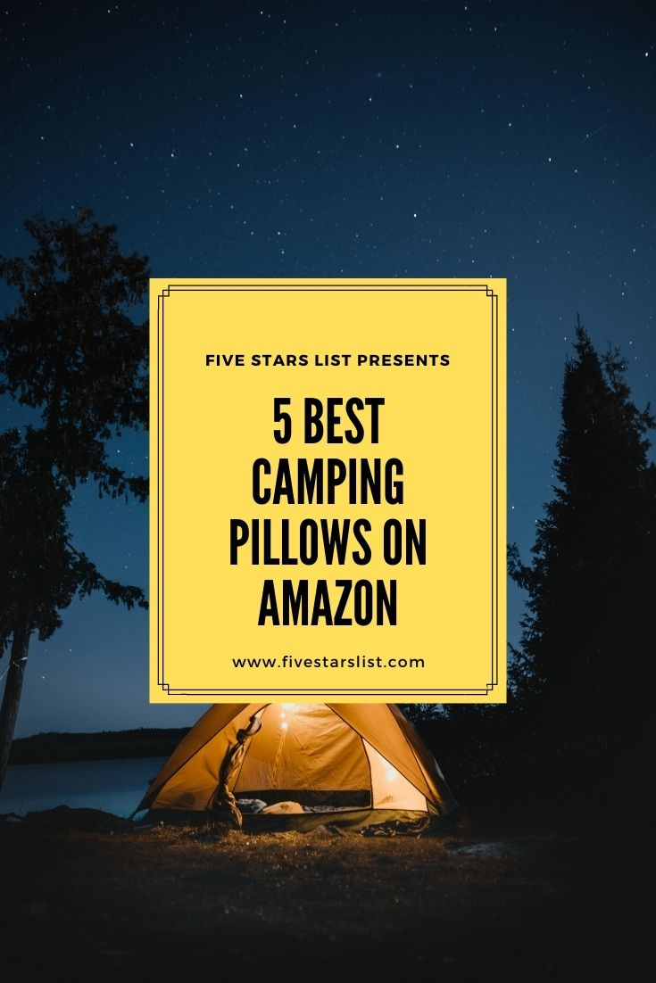 5 Best Camping Pillows on Amazon