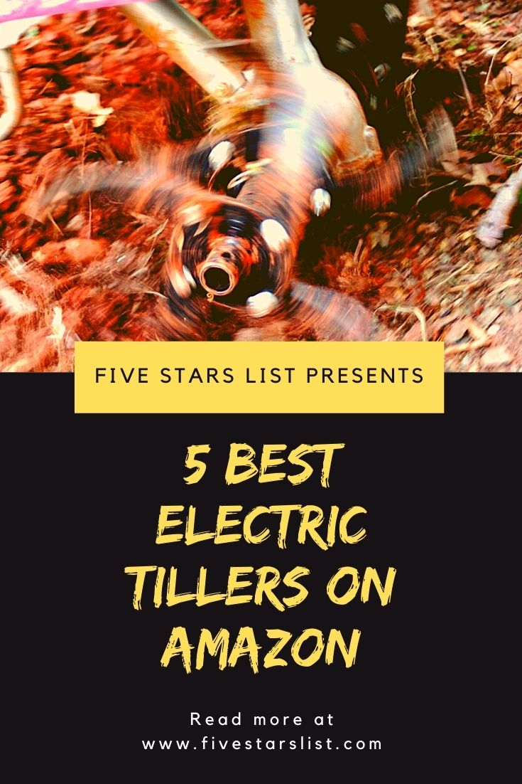 5 Best Electric Tillers on Amazon