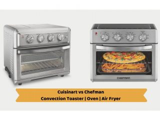 Cuisinart vs Chefman: Convection Toaster Oven Air Fryer
