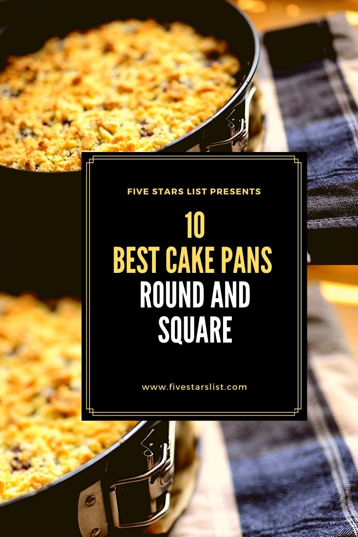 10 Best Cake Pans: Round and Square