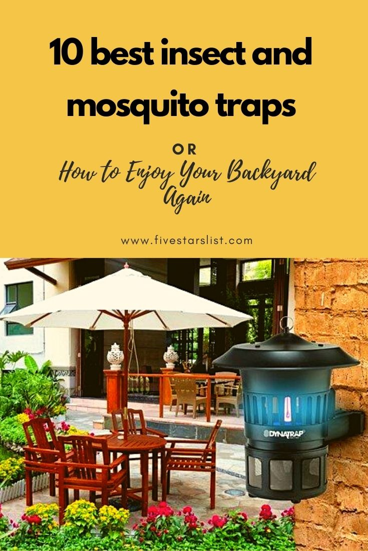 10 Best Insect and Mosquito Traps or How to Enjoy Your Backyard Again