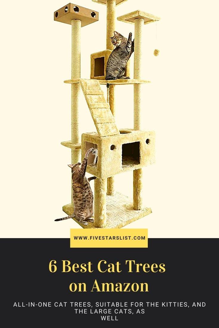 6 Best Cat Trees on Amazon