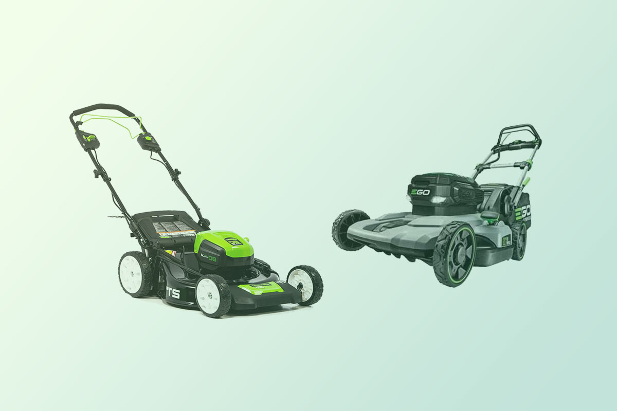 Best Self-propelled Electric Cordless Lawnmower Standoff