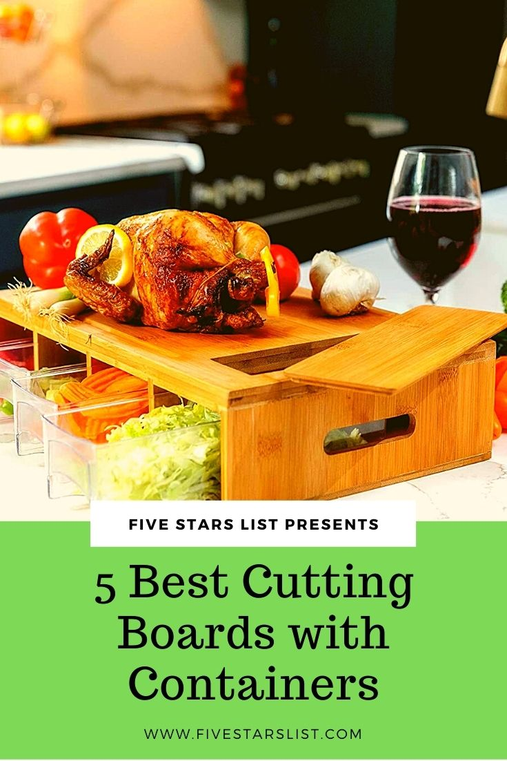 5 Best Cutting Boards with Containers