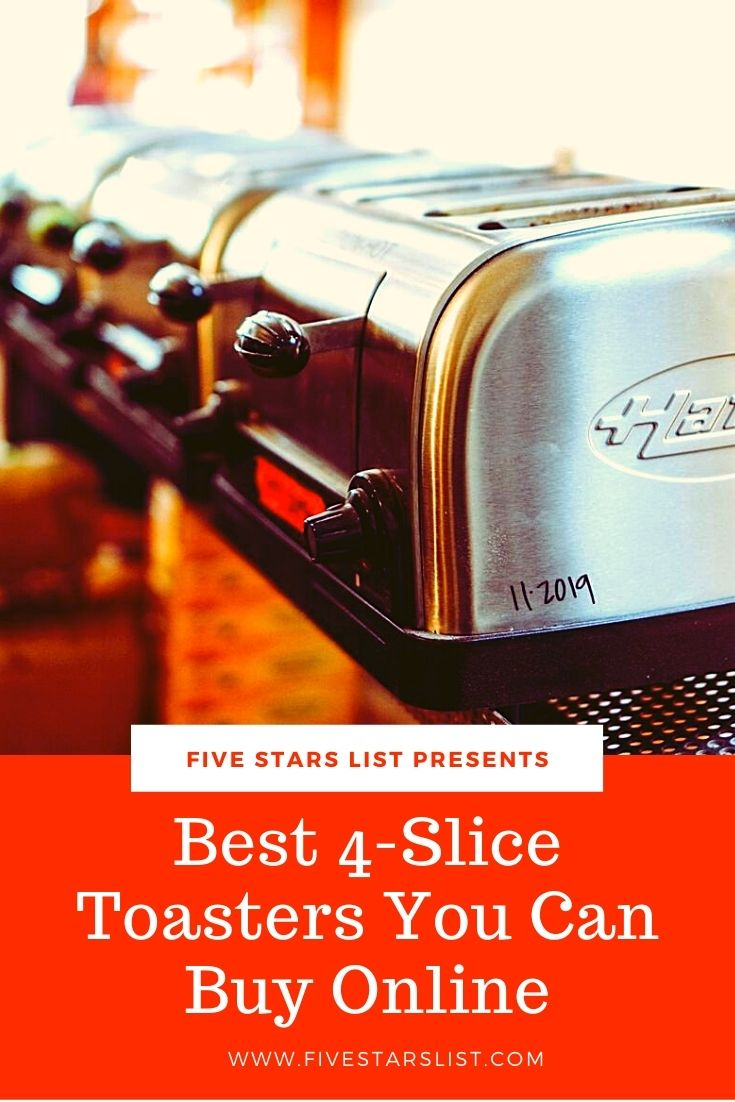 Best 4-Slice Toasters You Can Buy Online