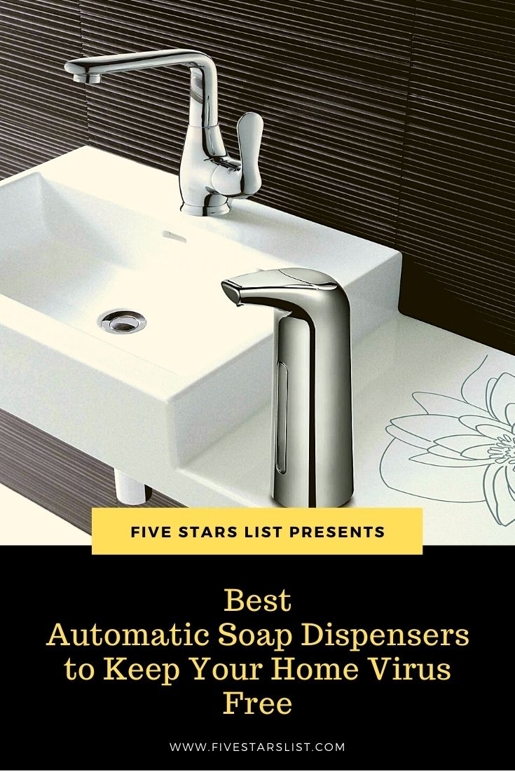 Best Automatic Soap Dispensers to Keep Your Home Virus Free