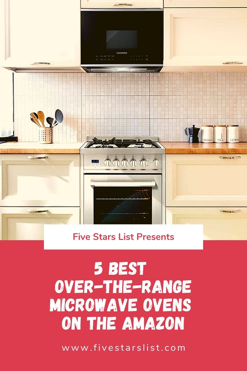 5 Best Over-the-Range Microwave Ovens on the Amazon
