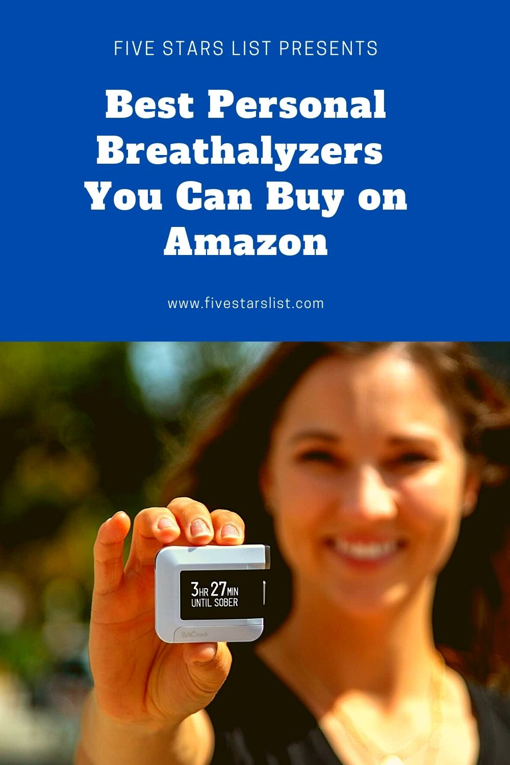 Best Personal Breathalyzers You Can Buy on Amazon