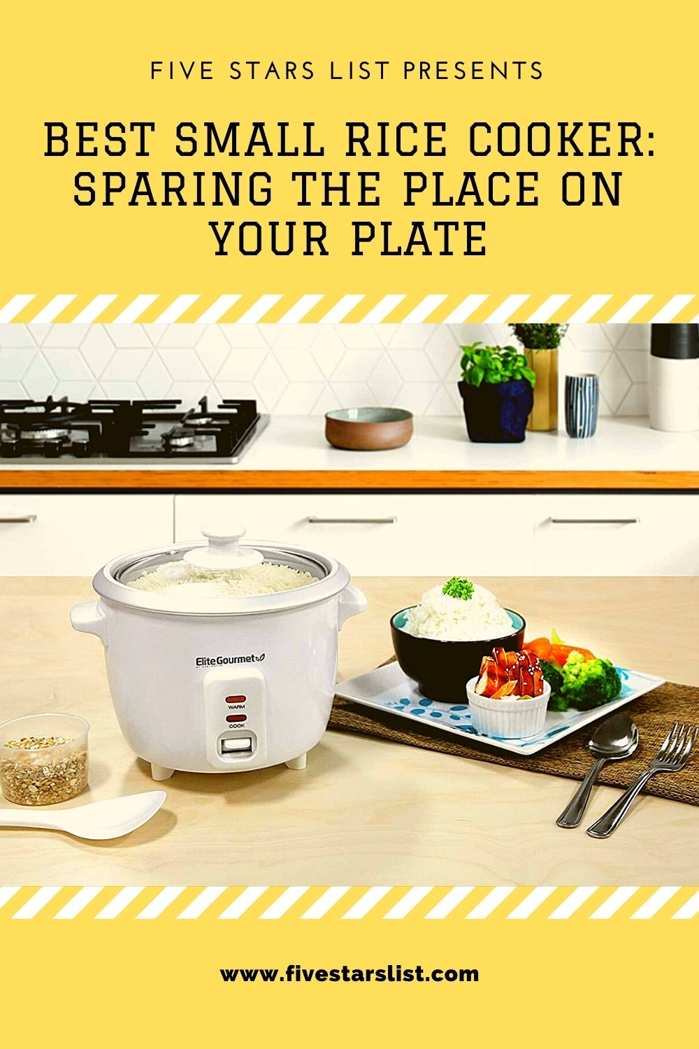 Best Small Rice Cooker: Sparing the Place on Your Plate