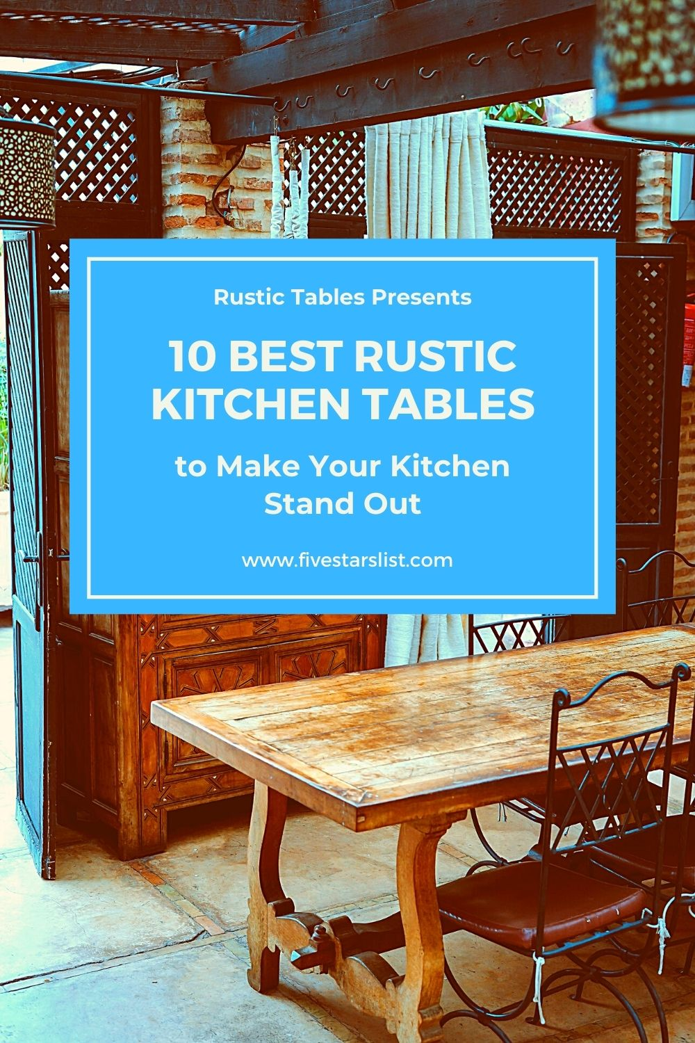 10 Best Rustic Kitchen Tables to Make Your Kitchen Stand Out
