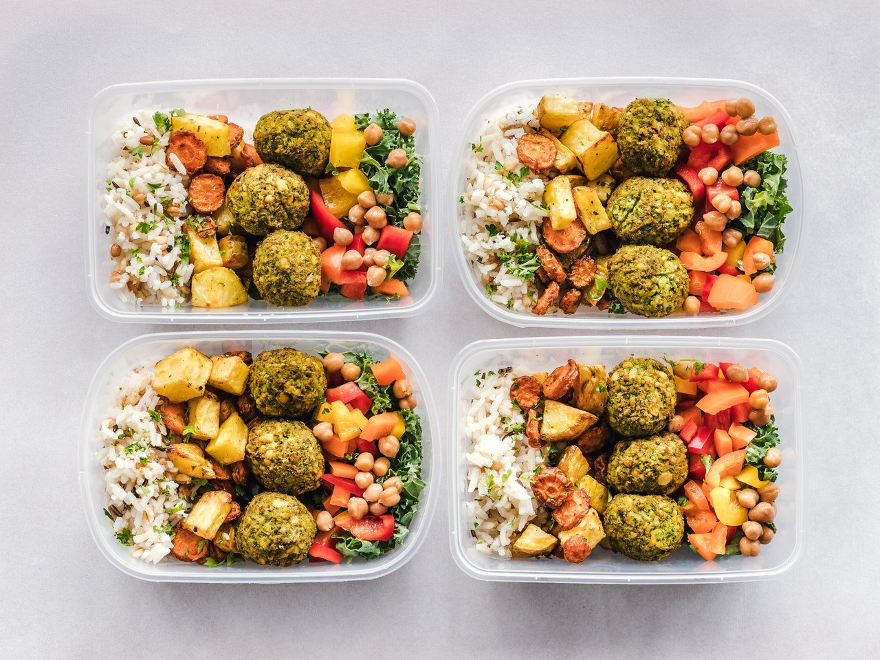 Glass Storage Containers with Lids for Food