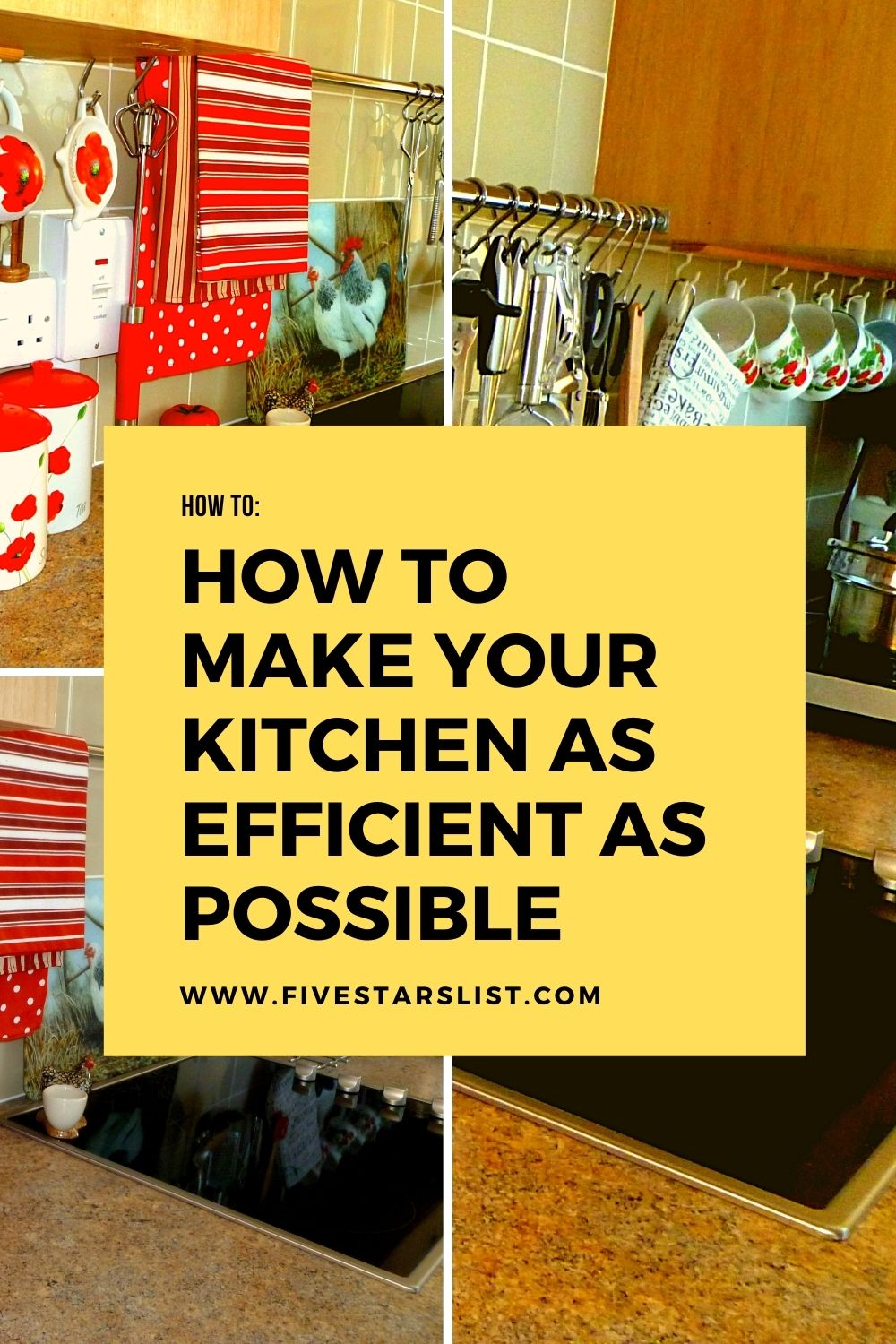 How to Make Your Kitchen as Efficient as Possible