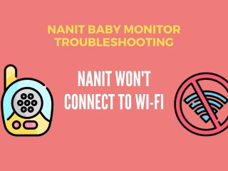 Nanit won't connect to Wi-Fi