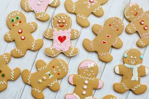 Wooden Gingerbread Molds for Baking Cookies