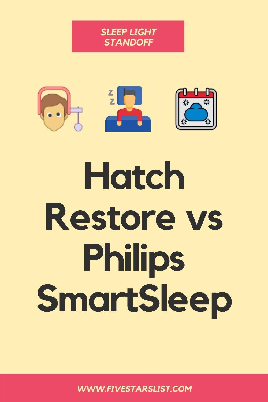 Hatch Restore vs Philips SmartSleep