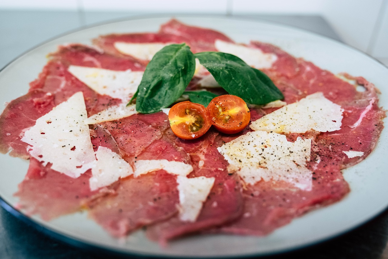 Carpaccio – Tiny Sliced Italian Raw Beef Appetizer