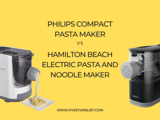 Philips vs Hamilton Beach Pasta Maker
